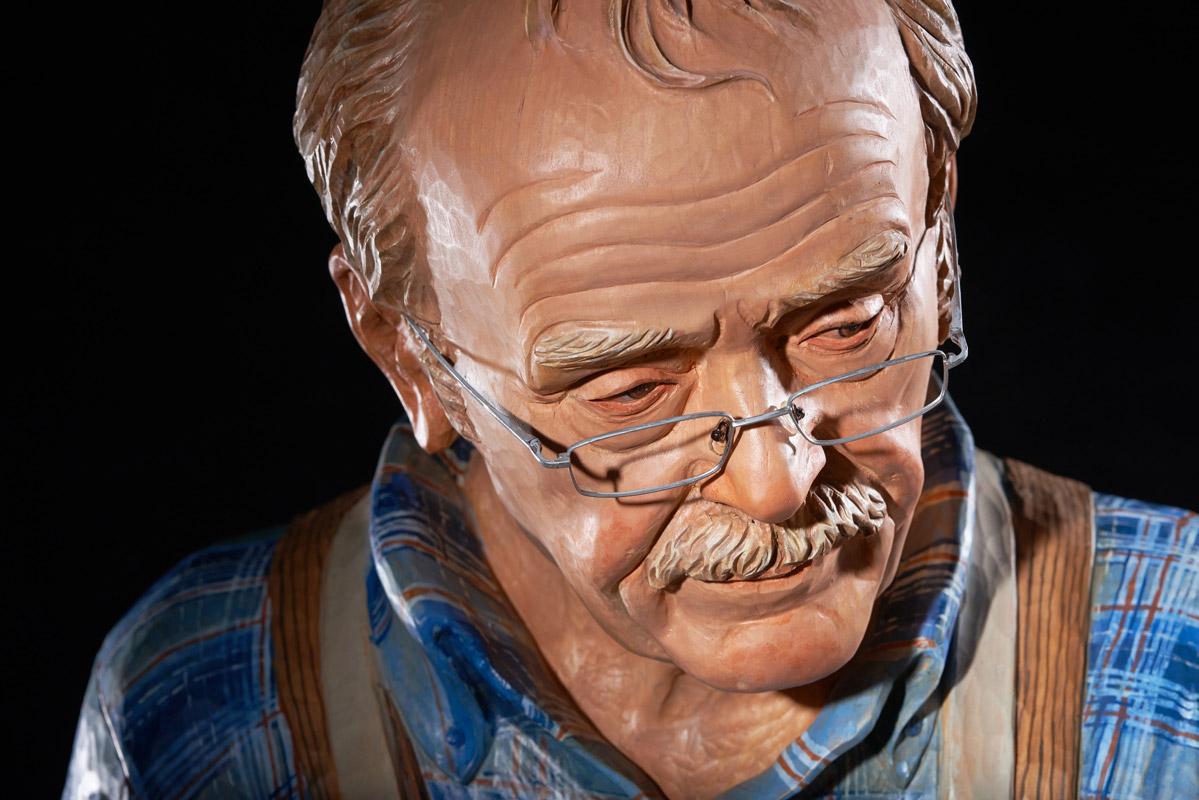 Groß-Skulptur Klaus Kolbe
