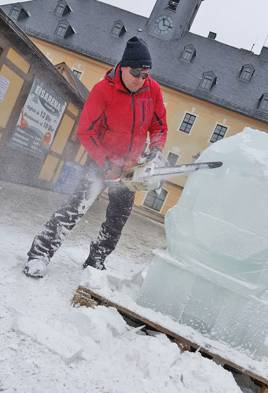 Eisskulpturen Annaberg