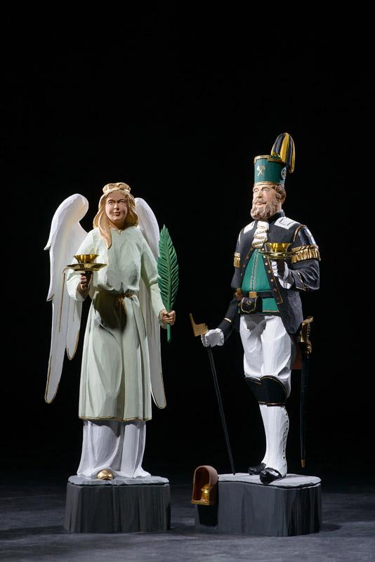 Engel und Bergmann