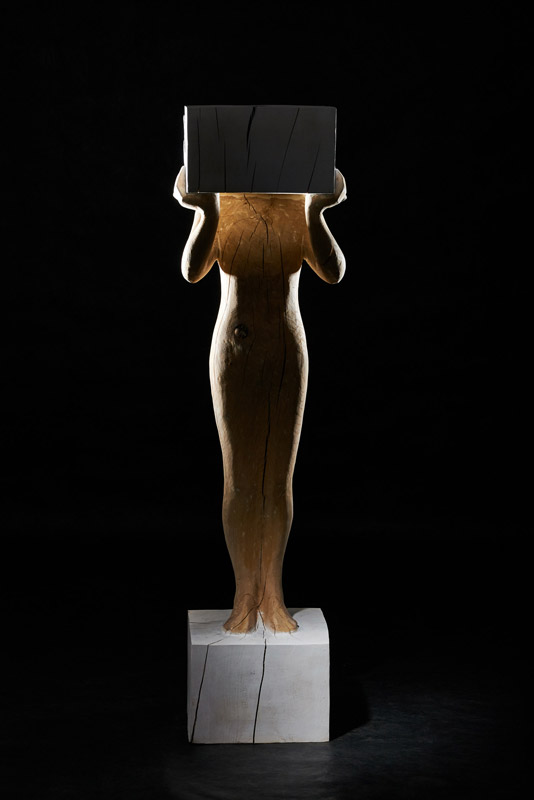 Skulptur Kopflos