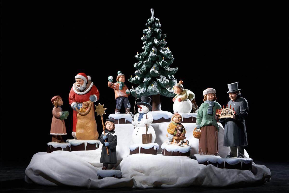 Weihnachtsszene