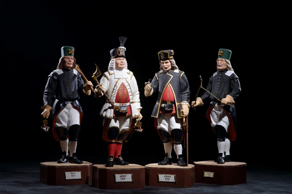 Bergmannsgruppe anno 1719